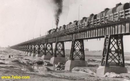 پل سیاه اولین پل سداهواز