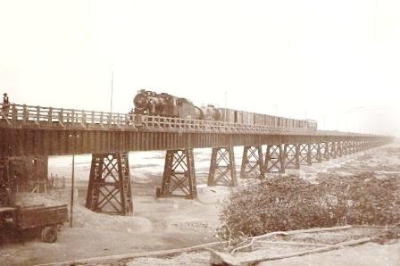 پل سیاه ، پل سد ، پل راه آهن اهواز